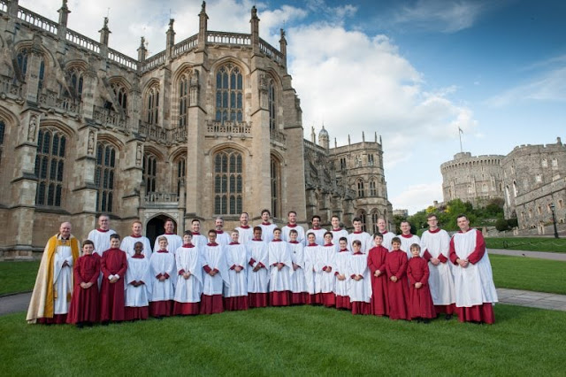 The Choir of St George's Chapel, Windsor in 2018
