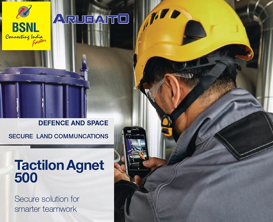 BSNL launched TACTILON AGNET 500 Application for Secure group communication in your smartphone