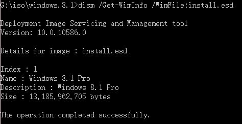 convert esd to wim dism