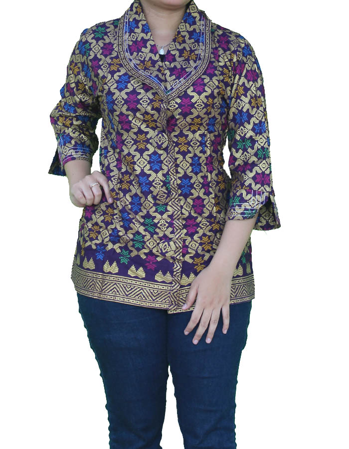 Itu cuma contoh beberapa model baju batik wanita modern c65b072480