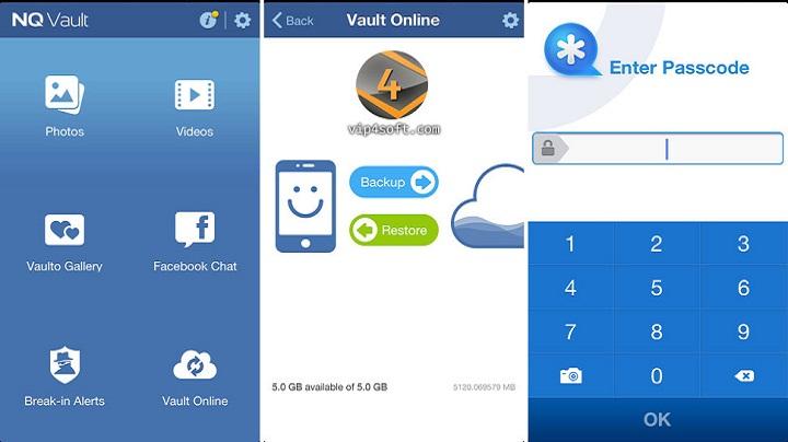 مميزات تطبيق فولت VAULT لاخفاء الصور والفيديوهات