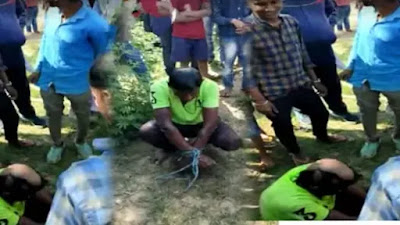 Crime-Begusarai-Bihar-News-Teasing-a-young-man-was-expensive-villagers-taught-a-lesson-8340
