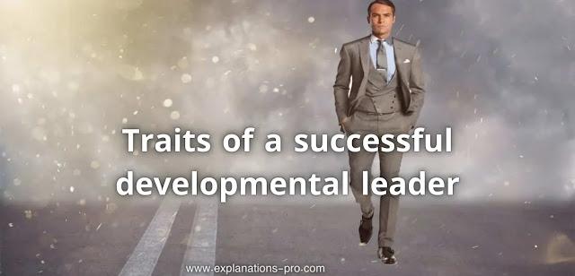 Traits of a successful developmental leader