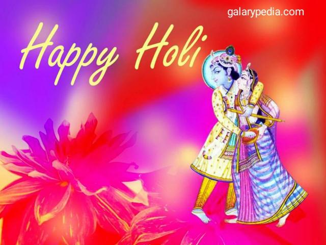 Happy Holi Radha Krishna pics