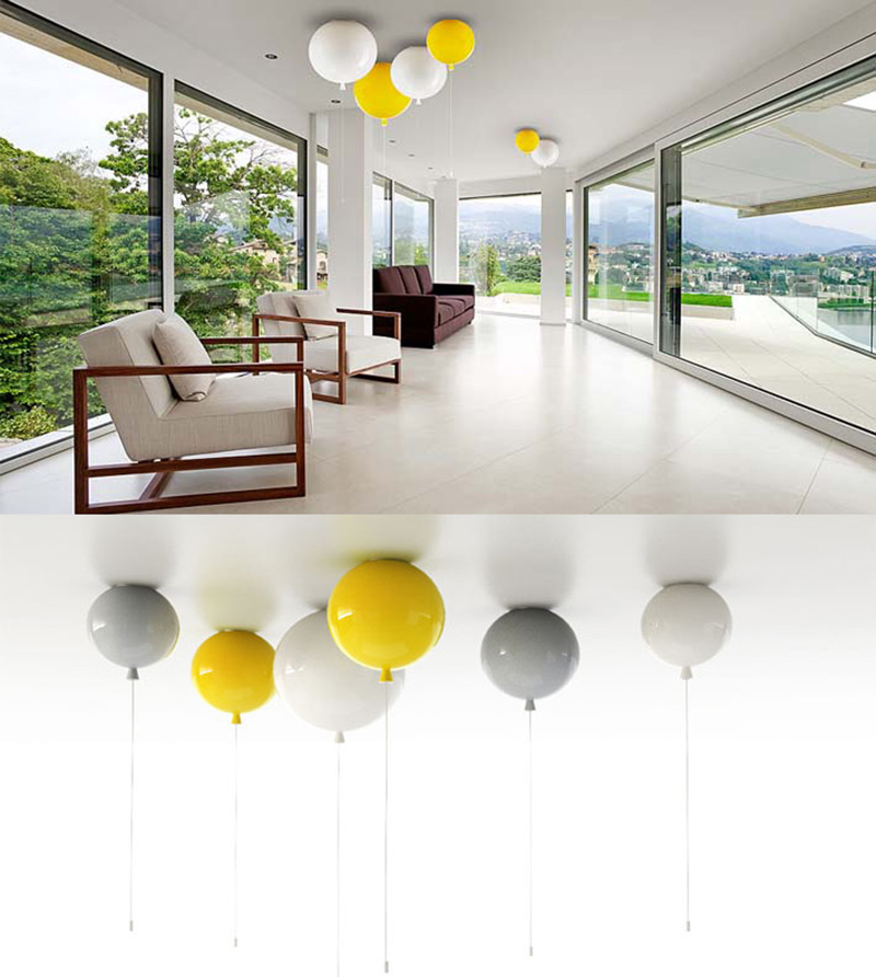 Modern wall lights interior - If It S Hip It S Here Archives Glass Balloon Ceiling