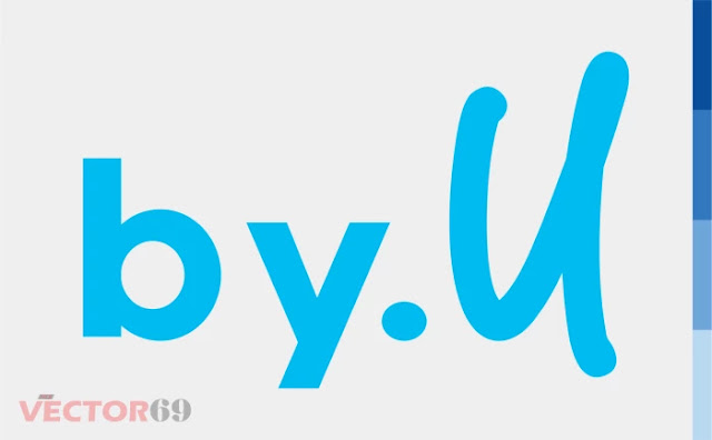 Logo by.U - Download Vector File EPS (Encapsulated PostScript)