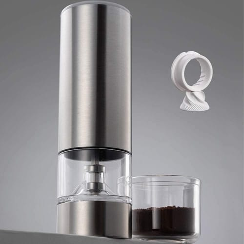 JFOYH Portable Rechargeable Coffee Grinder