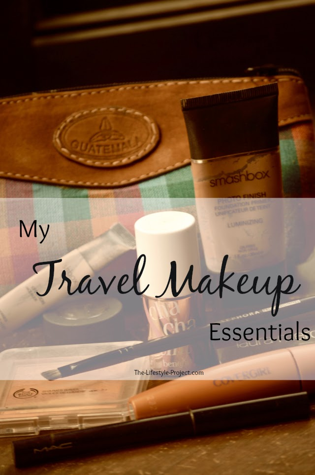 Travel Makeup Essentials for Backpackers