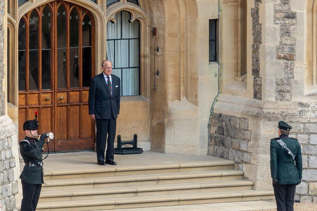 The Duke of Edinburgh was admitted to Hospital as a Precaution