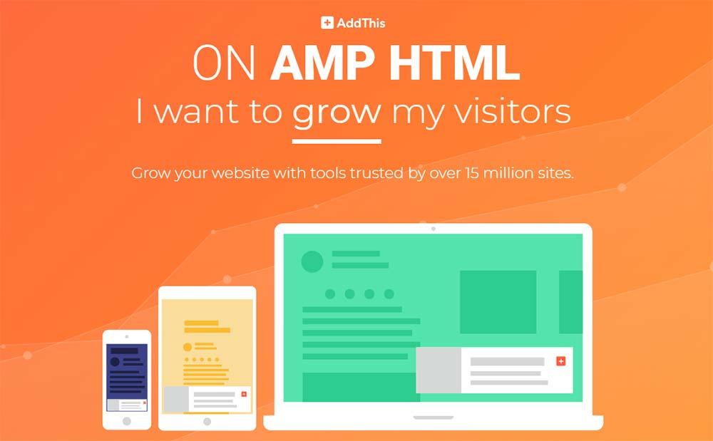 Cara Memasang Share Button AddThis Dengan Counter Pada Blog AMP