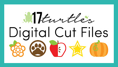 17turtles Digital Cut Files by Juliana Michaels