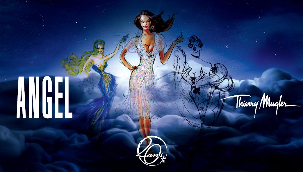 Une Expo Célébrant Les 20 Ans Du Parfum Angel Miss Vay Blogue