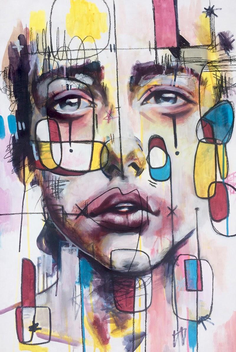 Mix Media Art by Mayro Toyo.