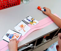 Child Pasting Fine Motor Skill Teach Magically