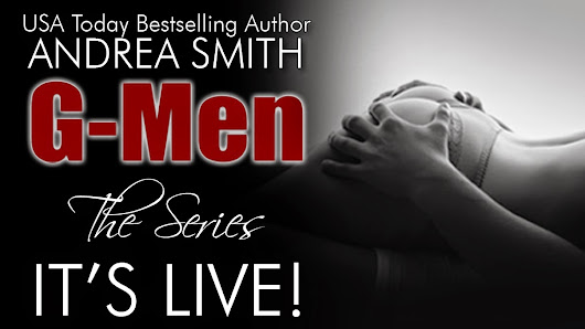 Excerpt & Giveaway: G-Men Series by Andrea Smith