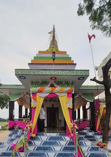 #JaunpurLive : सैकड़ो वर्ष प्राचीन शिव मंदिर का हुआ जीर्णोद्धार