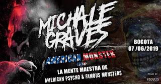Concierto MICHALE GRAVESen Bogotá 2019 POS 1