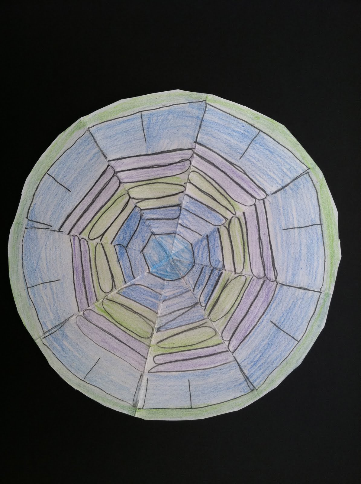 What Is Radial Balance In Art: ART At NTA !: Radial Name Designs