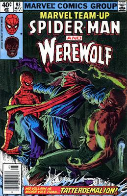 Marvel Team-Up #93, Spider-Man, Werewolf and Tatterdemalion