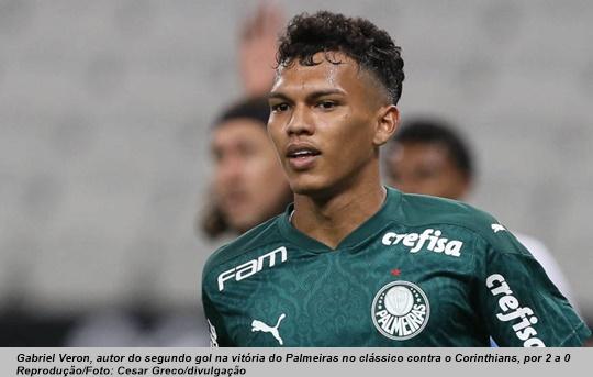 www.seuguara.com.br/Gabirel Veron/Palmeiras/Brasileirão 2020/