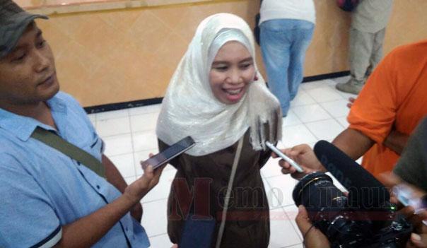 Ketua Komisi Pemilihan Umum (KPU) Lumajang Siti Mudawiyah