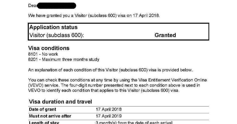 Kết quả hình ảnh cho Australia Visitor Visa 2019