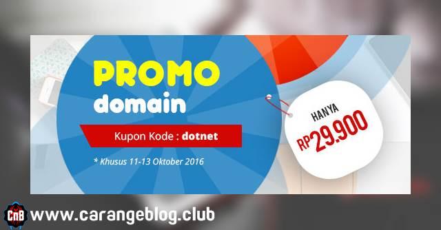 Promo Oktober Domain .NET Rp. 29.900,- dari IDWebhost, Promo IDWebhost, GRATIS Domain .NET untuk Blogger Indonesia