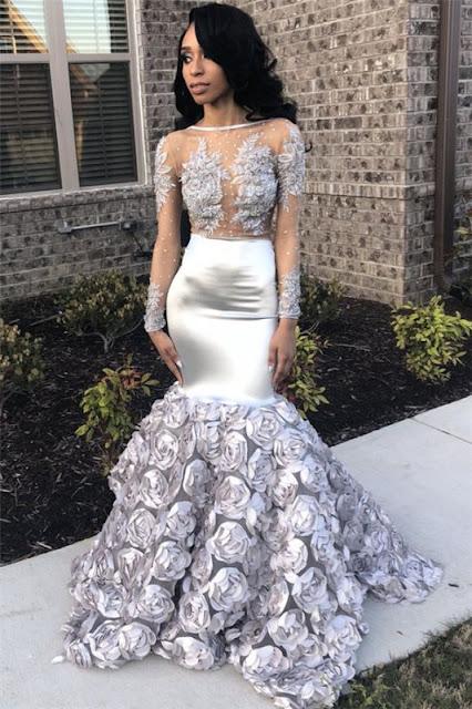 Long Prom Dress for Girls