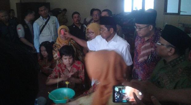 Kunjungan Kerja Menteri Sosial RI ke Sukabumi