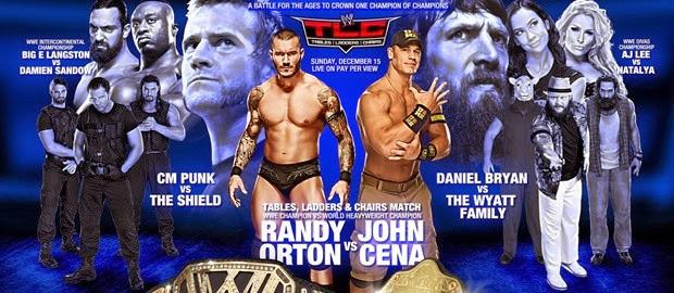 WWE TLC 15th Dec 2013 Sir Paul PDTV 500mb
