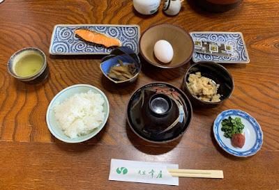幸屋の朝食