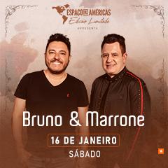 16/01/2021 Show de Bruno e Marrone em São Paulo [Espaço das Américas]