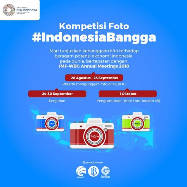 Kontes Foto #IndonesiaBangga