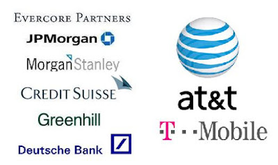 AT&T & T-Mobile investment bankers