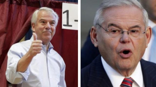 New Jersey Poll: In U.S. Senate Race, Republican Bob Hugin Ties Democrat Bob Menendez amid Corruption Concerns