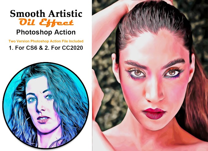Smooth Artistic Oil Effect[Photoshop][Action][5400417]