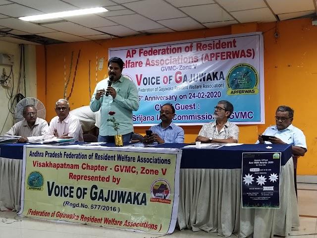 Federation of Gajuwaka RWAs Celebrates Anniversary