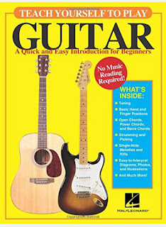 3. Teach Yourself to Play Guitar: A Quick and Easy Introduction for Beginners by David M. Brewster