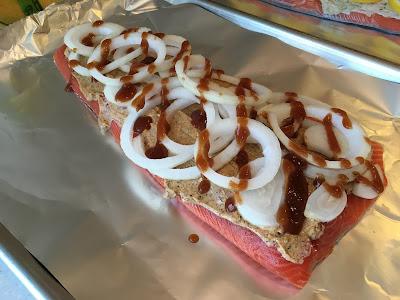 BBQ Style Salmon
