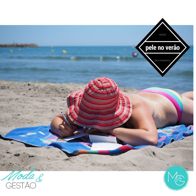 Cuidados com a pele após as férias de verão