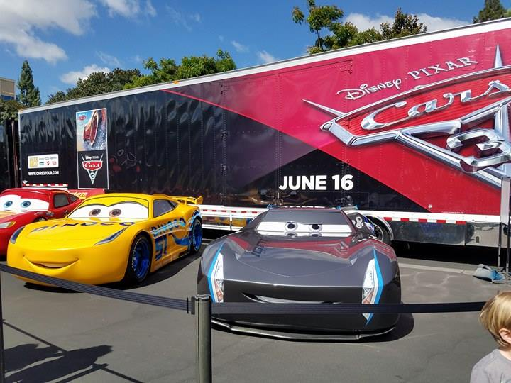 on the go oc things to do with your family cars 3 movie review road to the races tour info. Black Bedroom Furniture Sets. Home Design Ideas