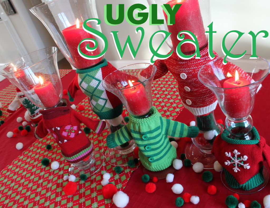 Ugly Christmas Sweater Party Ideas - Oh My Creative