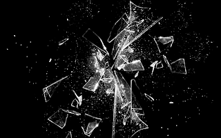 Broken Glass Concept Photo