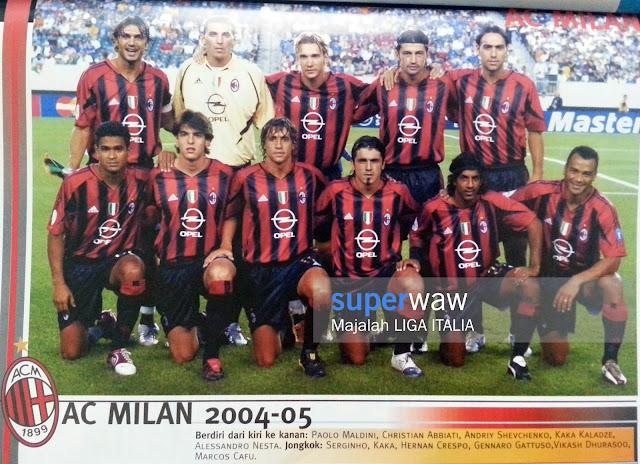 Tim AC Milan 2004-2005
