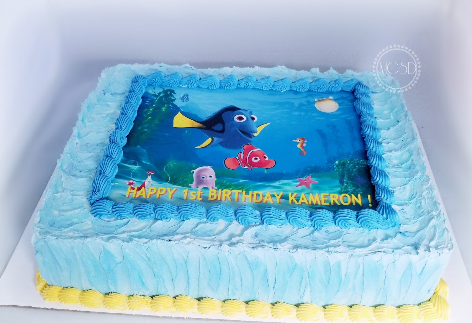 My Cake Sweet Dreams Finding Nemo 1st Birthday Cake Smash Cake