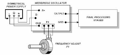 External-Wiring-Layout-Wienbridge-Oscillator