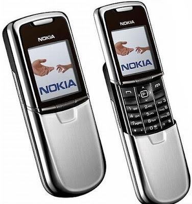 Nokia 8800- Spesifikasi Ponsel Lengkap