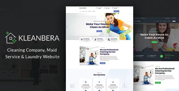 Best Cleaning and Maid Services Responsive Website