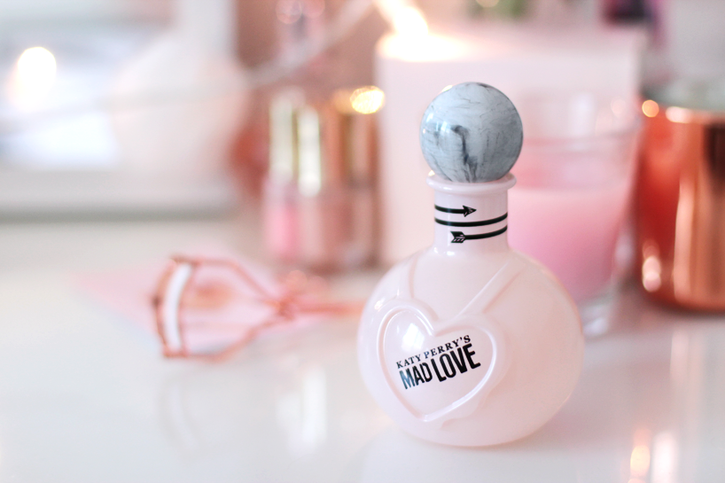 Katy Perry Mad Love perfume marble pink