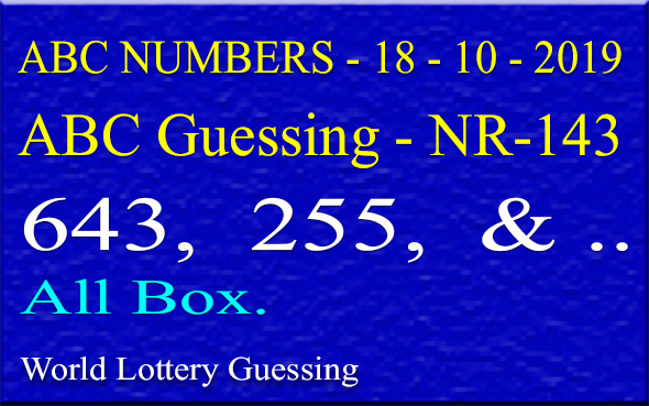 ABC guessing numbers,